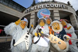 The Wombles at Wimbledon Centre Court Shopping Centre