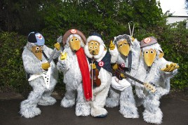 The Wombles band line-up