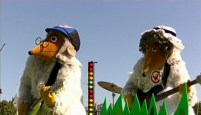Wellington Womble and Madame Cholet on This Morning
