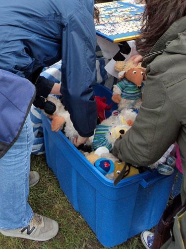 Wombles cuddly toys at the Wimbledon Village Fair 2011