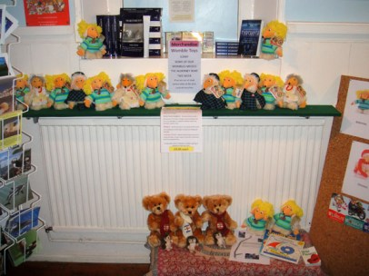 Wombles toys in the Alderney Museum shop