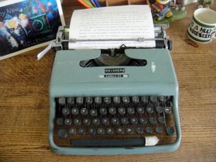 Elisabeth Beresford's typewriter