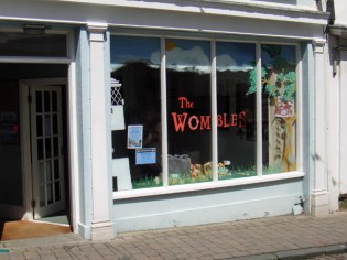 Front of the Wombles exhibition