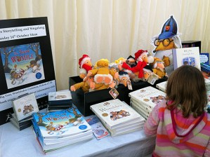 The Wombles bookstall at Wimbledon Bookfest