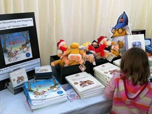 The Wombles bookstall at Wimbledon Bookfest