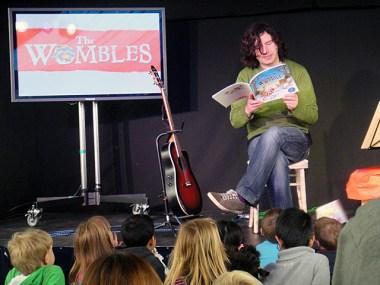 Julian Butler reads The Snow Womble