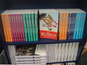 Wombles books in the Wimbledon BookFest bookshop