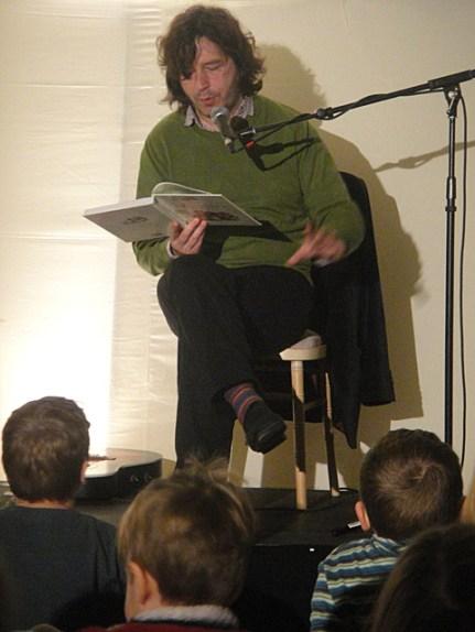 Julian Butler reads a Wombles story