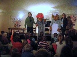 Orinoco and Madame Cholet visit Wimbledon BookFest