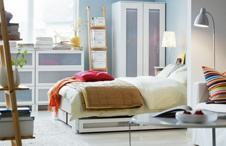 small bedroom organizing tips - www.tidyhouse