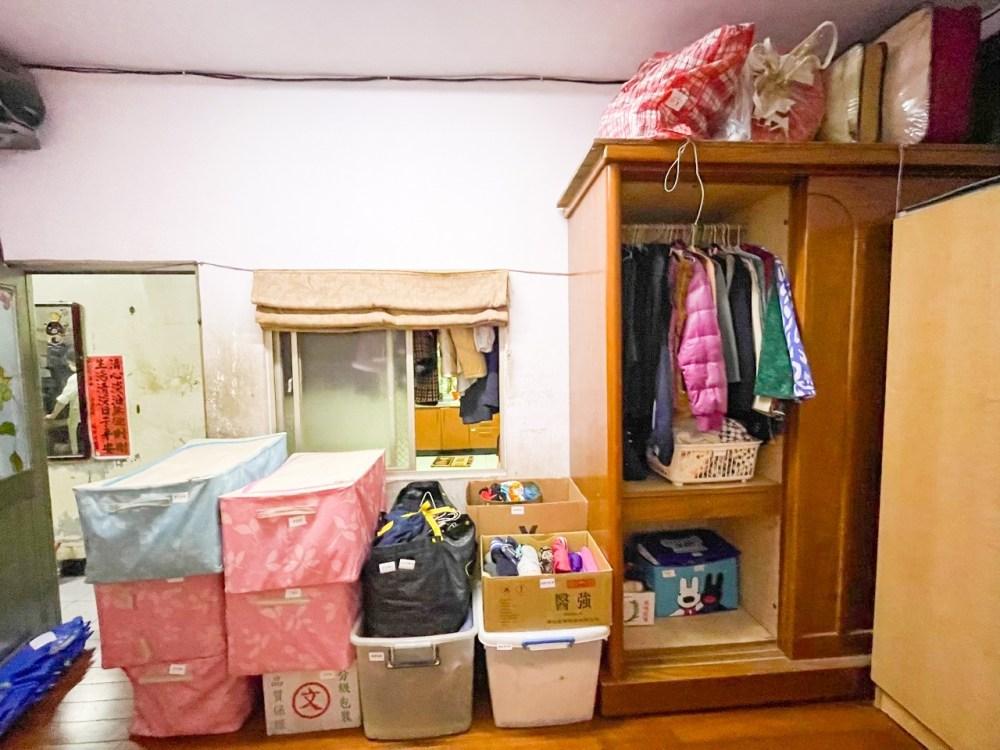 整聊後,衣櫃經過篩選,留下最需要的。