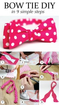DIY Bow Tie Video: Learn to Sew Your Own Bow Ties