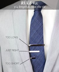 How to Wear a Tie Bar - 3 Rules for Tie Bars | Tie-a-Tie.net
