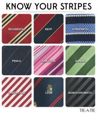Striped Neckties: What Striped Tie Goes with What? | Tie-a ...