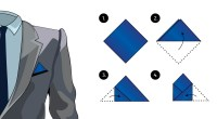 How to Fold a Pocket Squares   Tie-a-Tie.net