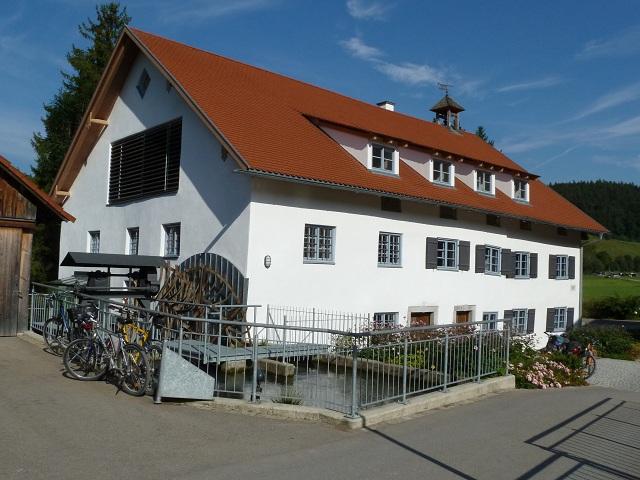 das Müllerhaus der Liebenthannmühle im Günztal