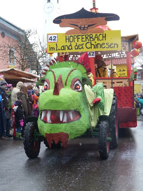 Hopferbach im Land der Chinesen