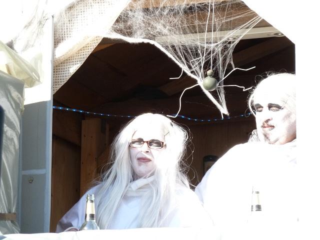 Geister auf dem Faschingsumzug Obergünzburg 2013