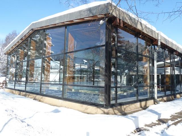 Das ABC-Bad in Nesselwang im Winter