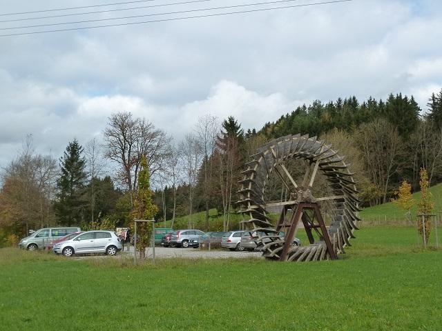 Parkplatz an der Teufelsküche bei Obergünzburg