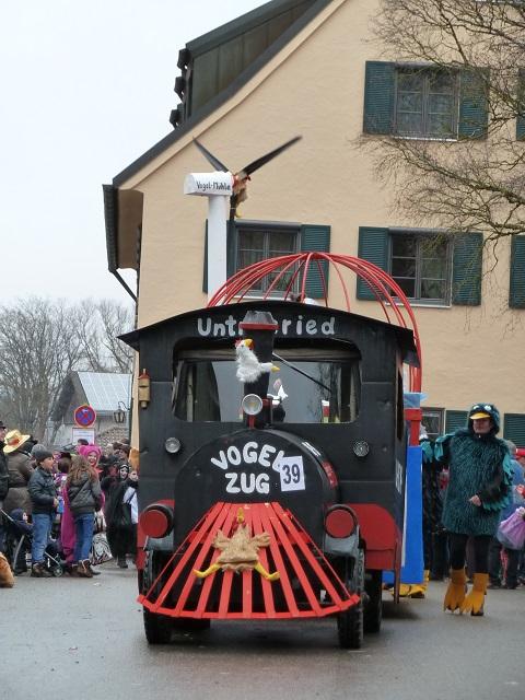Faschingsumzug Obergünzburg - Untrasrieder Vogelzug