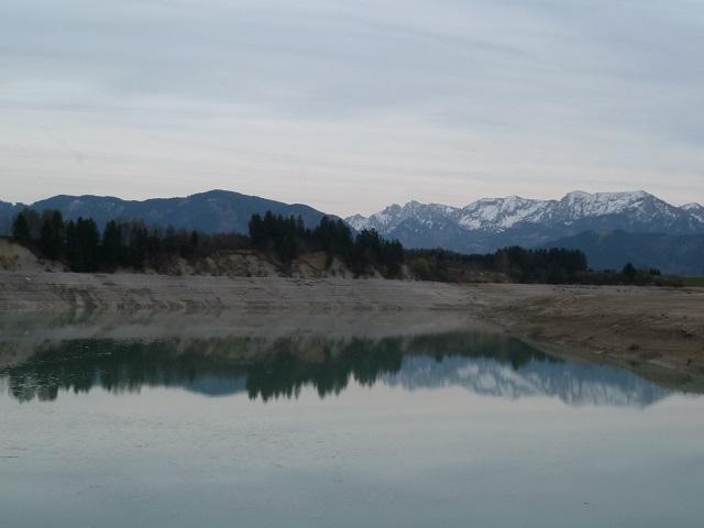 Forggensee-Spiegelung