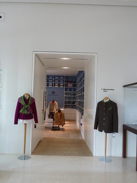 Museumsshop im Museum der Bayerischen Könige in Hohenschwangau