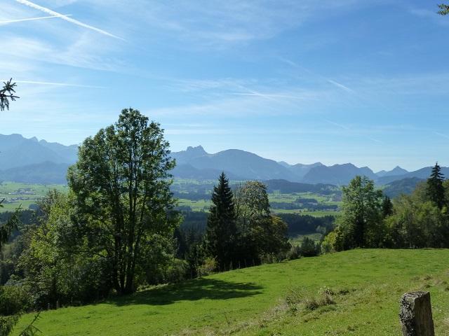 Panoramablick-Aggenstein