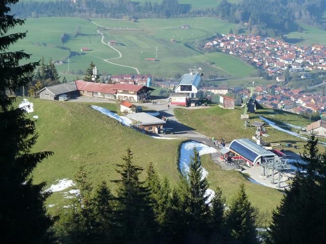 Mittelstation der Alpspitzbahn