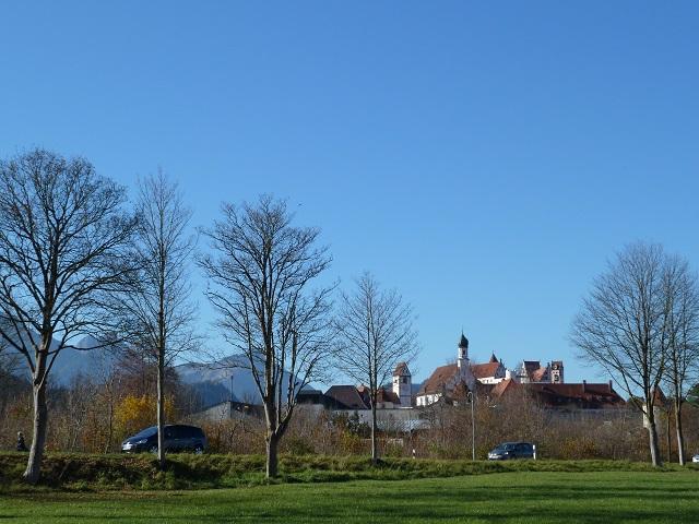 Blick auf die Altstadt von Füssen