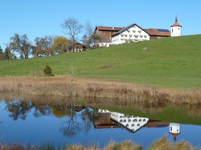 Bauernhof am Hegratsrieder See