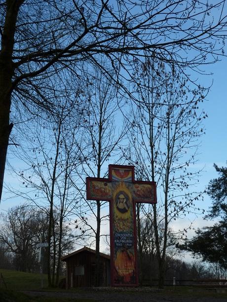 Crescentia-Kreuz bei Bickenried
