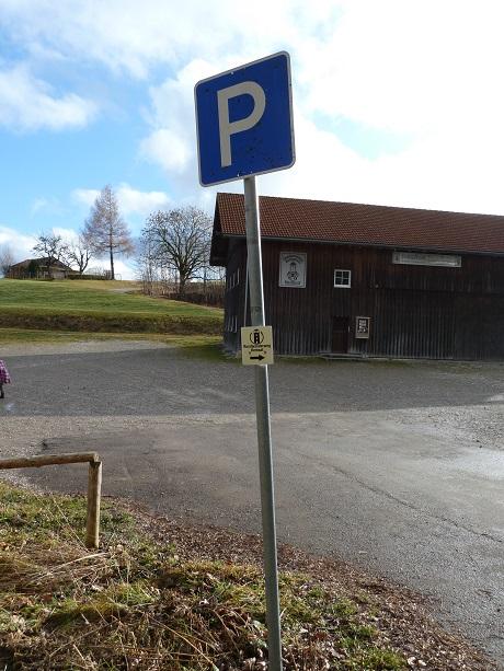 Parkplatz in Kemnat