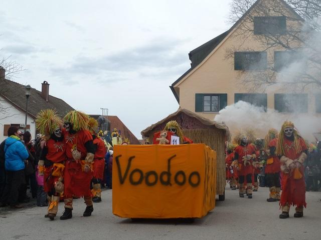 Faschingsumzug Obergünzburg 2016 - Voodoo