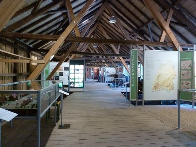 Oberschwäbisches Torfmuseum in Bad Wurzach - Innenansicht