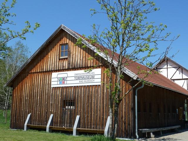 Oberschwäbisches Torfmuseum in Bad Wurzach - Außenansicht