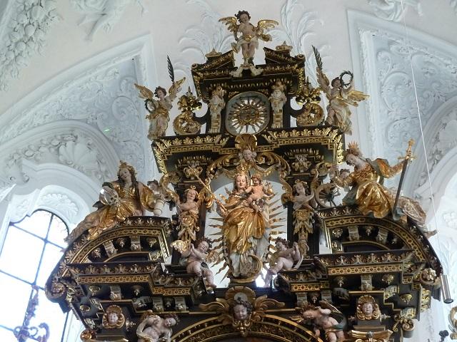 Kartause Buxheim-Priesterchor-Hochaltar-Madonna