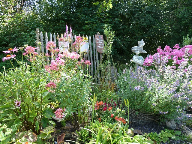 Hausgarten im Naturlehrgarten Mindelheim