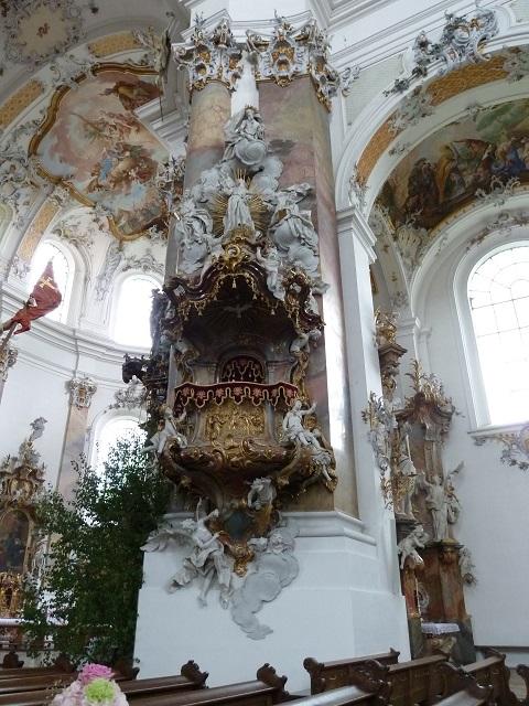 Basilika Ottobeuren Kanzel