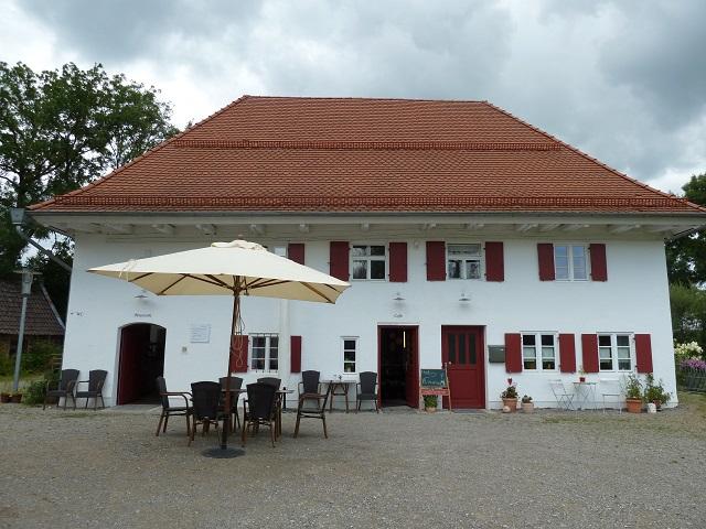 Café und Museum im Benninger Ried