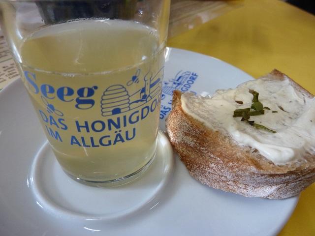 Honig-Imbiss in der Erlebnisimkerei Seeg