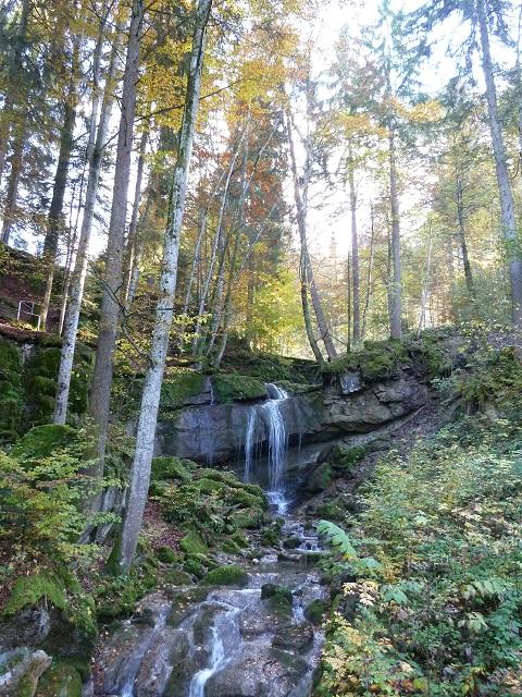 Wasserfall bei Kranzegg