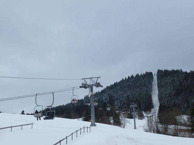 Die Buchenbergbahn im Winter