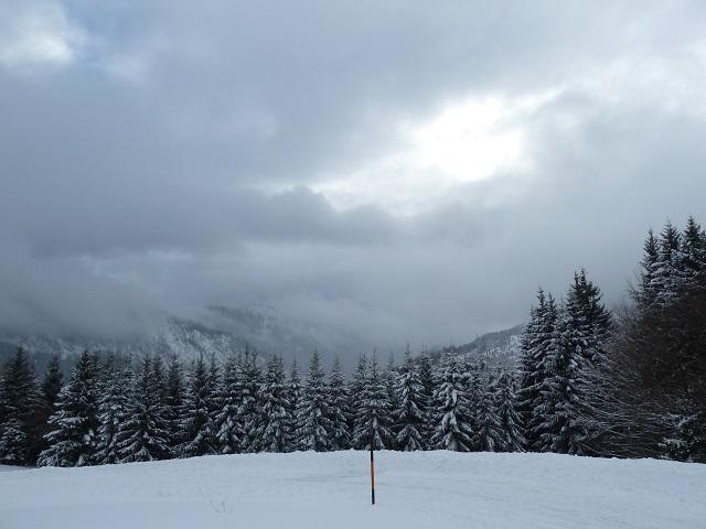 Winterliche Wolken über Jungholz
