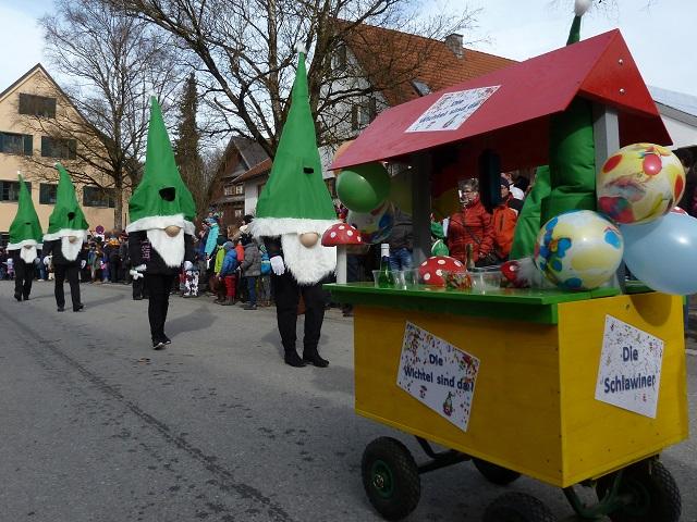 Faschingsumzug Obergünzburg 2017 - Schlawiner