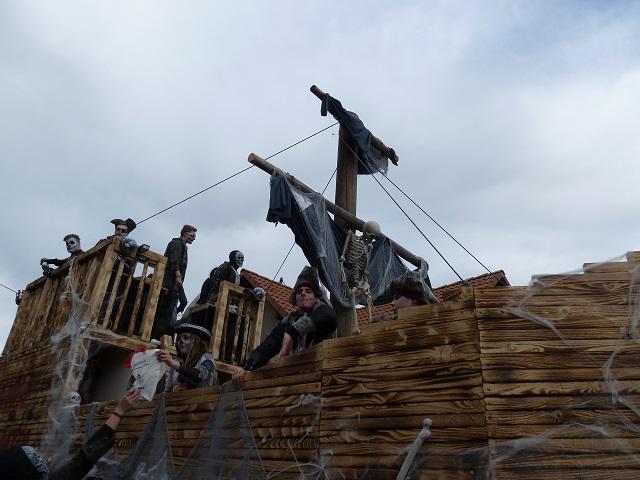 Faschingsumzug Ronsberg 2017 - Geisterschiff aus Günzach