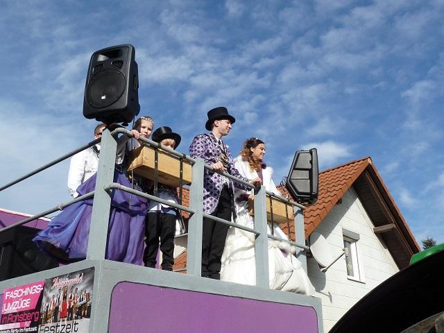 Die Ronsberger Prinzenpaare im Fasching 2017