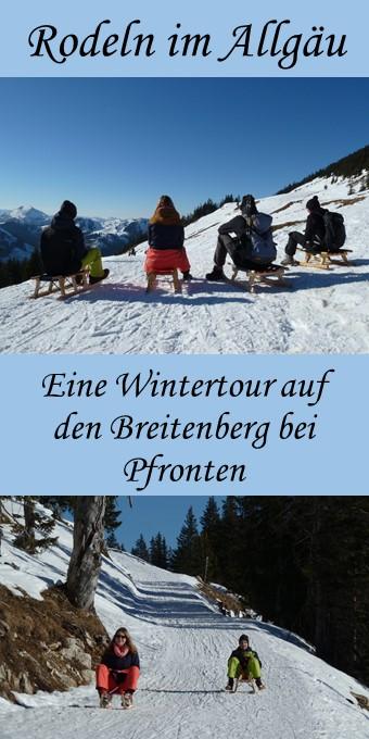 Rodeln am Breitenberg - Pin