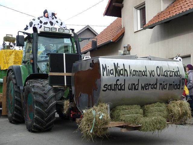 Tausendfüßler Ronsberg 2017 Ollarzrieder Kuhwagen