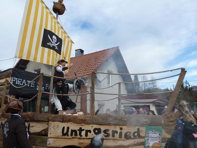 Untrasrieder Piraten auf dem Tausendfüßler Rosnberg 2017